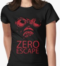 Zero Escape Women's Fitted T-Shirt