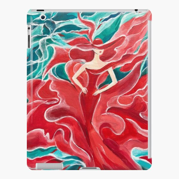 The Red Dress iPad Snap Case