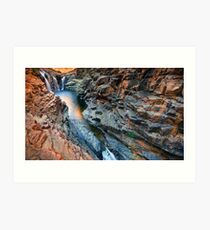 Lennard Gorge: A Wider View Art Print