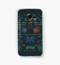 Ugly Red vs Blue Christmas Sweater Samsung Galaxy Case/Skin