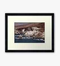 Achill Island Cliffs Framed Print