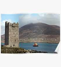 Achill RNLI Lifeboat Station Poster