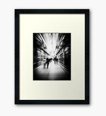 Abstract Arcade Framed Print