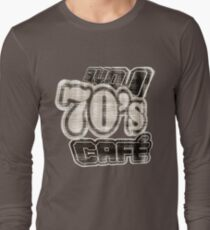 Love 70's Cafe Vintage #3 - T-Shirt Long Sleeve T-Shirt