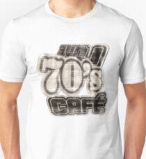Love 70's Cafe Vintage #3 - T-Shirt Unisex T-Shirt