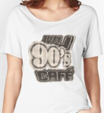 Love 90's Cafe Vintage #2 - T-Shirt Women's Relaxed Fit T-Shirt