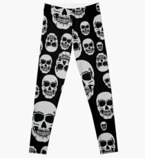 Wall Of Skulls Leggings