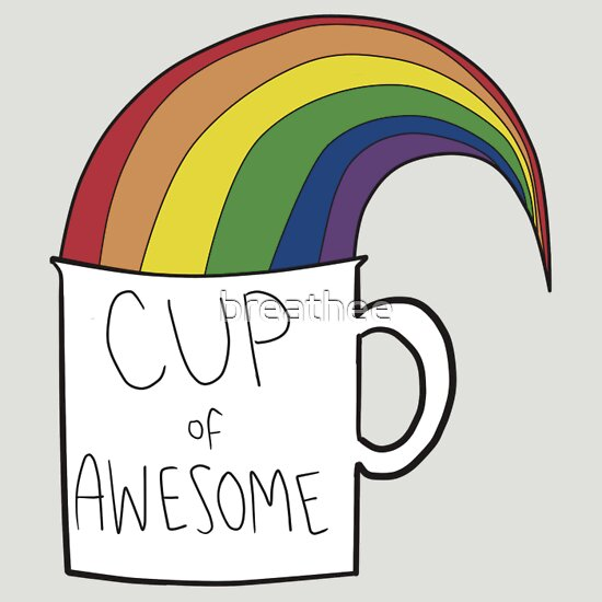 TShirtGifter presents: New cup of awesome
