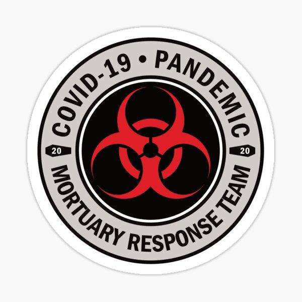 Pandemic Mortuary Response Team Sticker