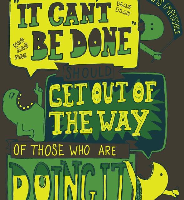 «Se puede hacer...» de Not Before Noon