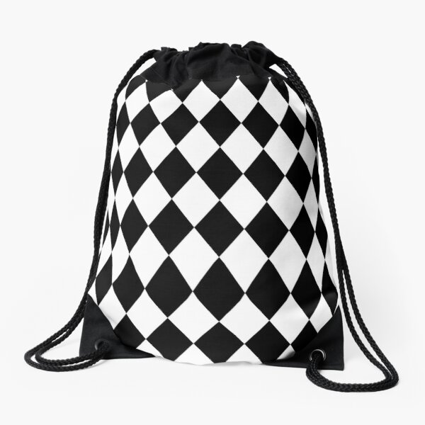 leo • theo | Rhombus Diamonds Drawstring Bag