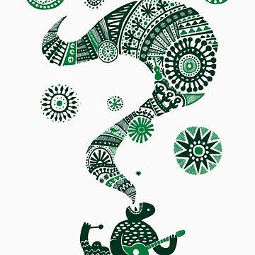 Musica (Green) by notbeforenoon