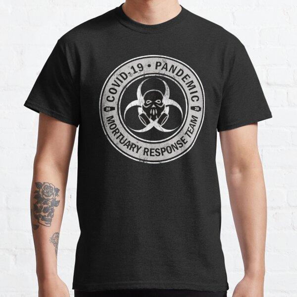COVID-19 Pandemic Mortuary Response Team Skull Classic T-Shirt