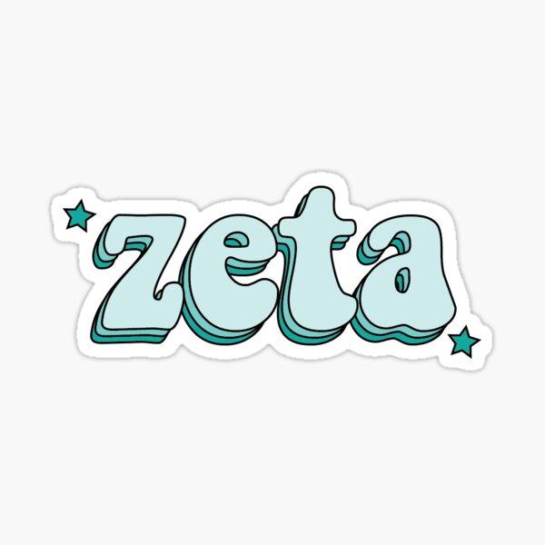 zeta Sticker