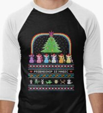 Happy Hearth's Warming Sweater Men's Baseball ¾ T-Shirt