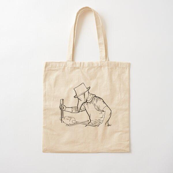 Plague Gaffer - Ink Cotton Tote Bag