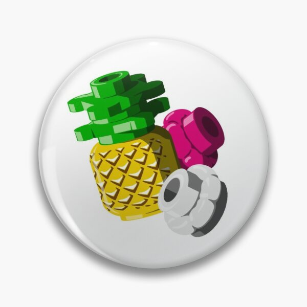 Brick Fruit in Paradise Pin