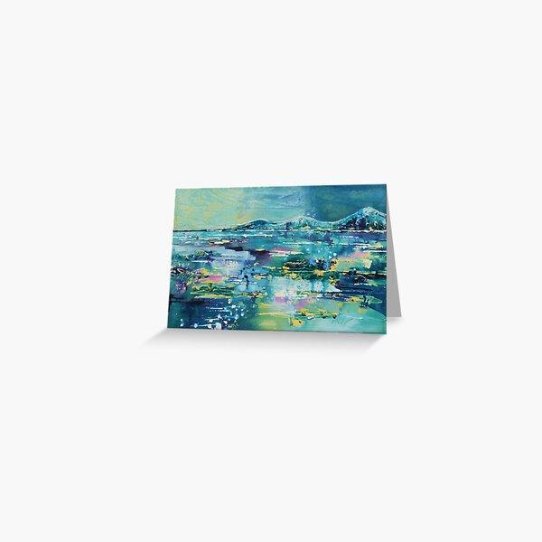 Flooded plains Greeting Card
