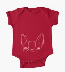 Boston Terrier Doodle Kids Clothes