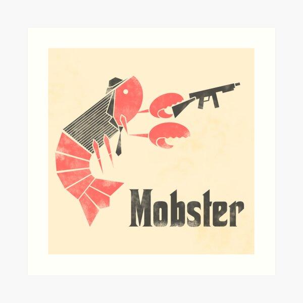 Mobster Art Print