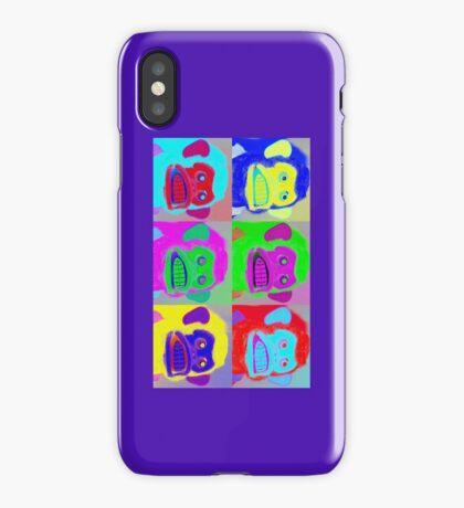 Warhol Musical Jolly Chimp phone case iPhone Case/Skin
