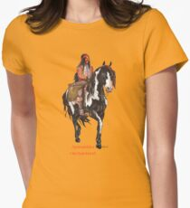 Apanatshka, Old Surehand, by tasmanianartist for Karl May Friends Fitted T-Shirt