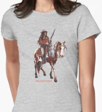Old Surehand by tasmanianartist for Karl May Friends Fitted T-Shirt