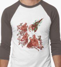 XIII Wolf Moon Men's Baseball ¾ T-Shirt