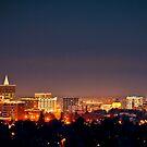 Blood Moon Over Boise by IdahoJim