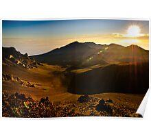 Sunrise Haleakala Volcano Poster