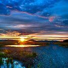 Sunrise at Centenial Marsh by IdahoJim