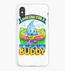 Looking For A Swimming Buddy iPhone Case/Skin
