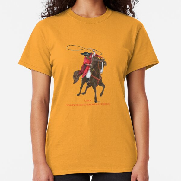 Carlos and Gaucho by tasmanianartist for Karl May Friends Classic T-Shirt