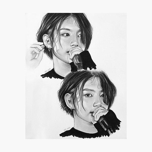 jeon jungkook Photographic Print