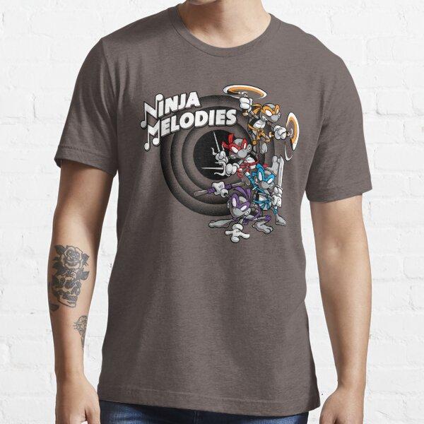 Ninja Melodies (TV Colours) Essential T-Shirt