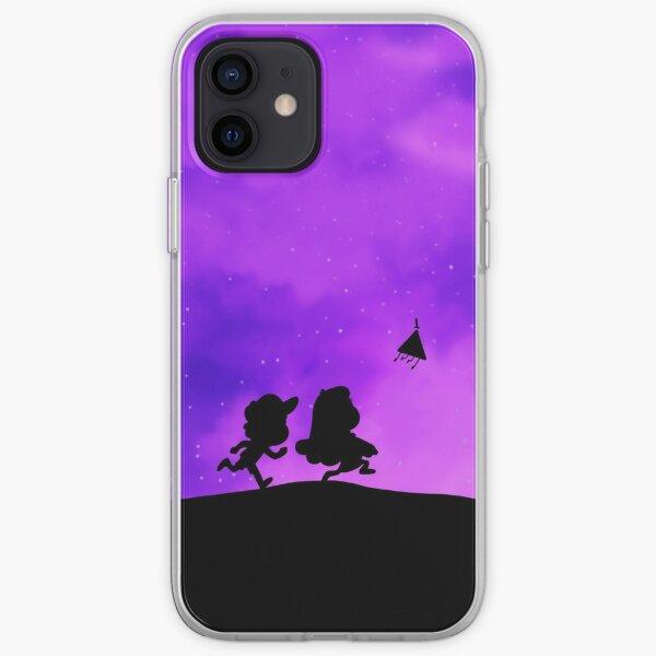 Gravity Falls - Purple iPhone Soft Case