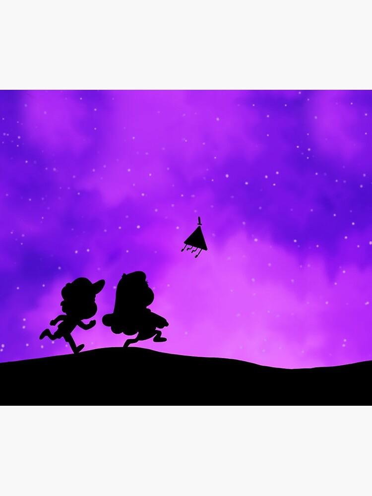 Gravity Falls - Purple by Clovie31