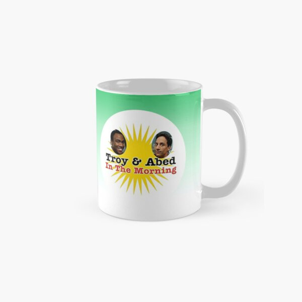 Community Troy and Abed in the Morning Classic Mug
