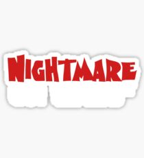 Nightmare on Wall Street. Sticker