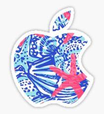 Starfish Lilly Apple Logo Sticker