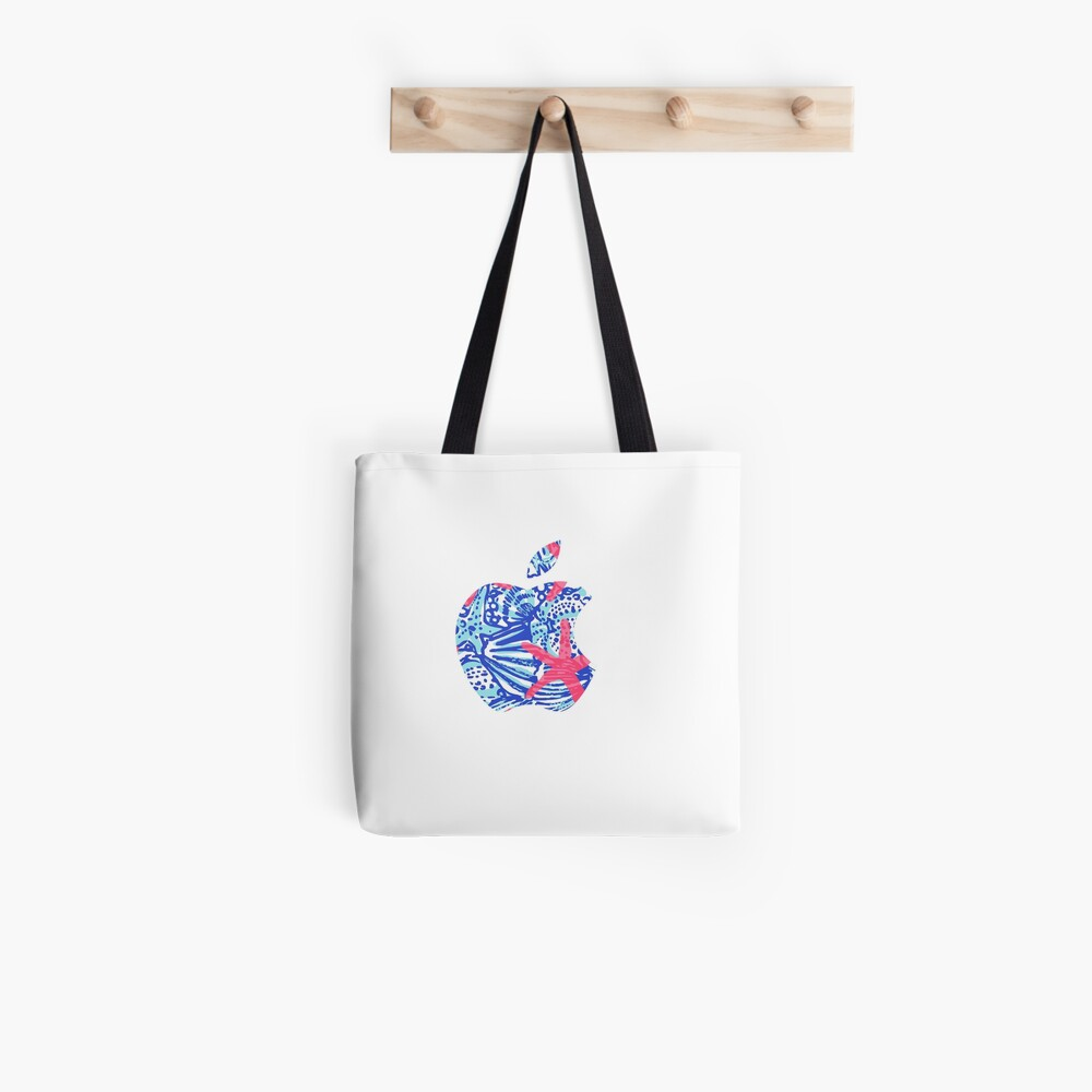 Seestern Lilly Apple Logo Tote Bag
