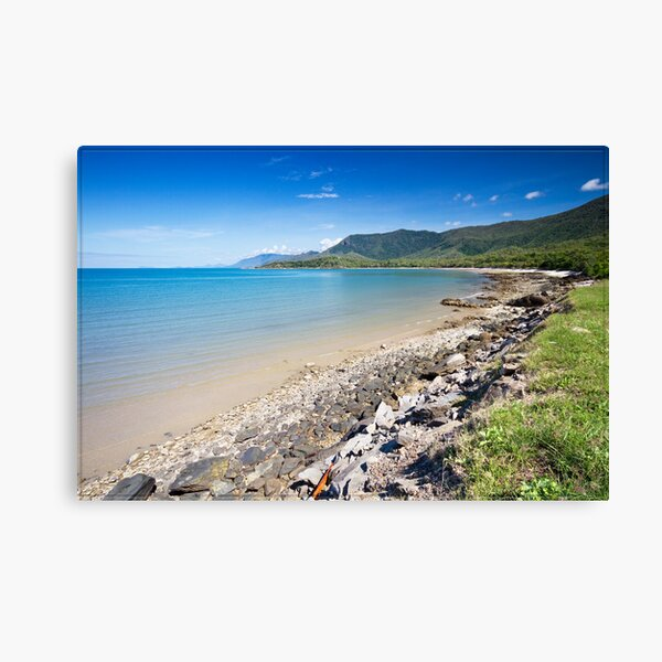 Oak Beach (Yule Point looking South), near Port Douglas Canvas Print
