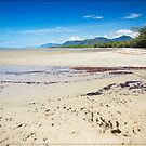 Four Mile Beach, Port Douglas - looking South by Chris Cohen