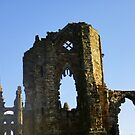 Whitby Abbey by shortarcasart