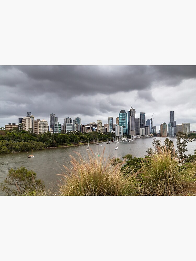 Brisbane from Kangaroo Point Cliffs by KeithHawley