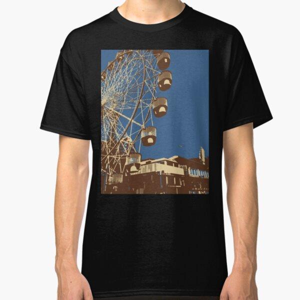 Luna Park Ferris Wheel Art Classic T-Shirt
