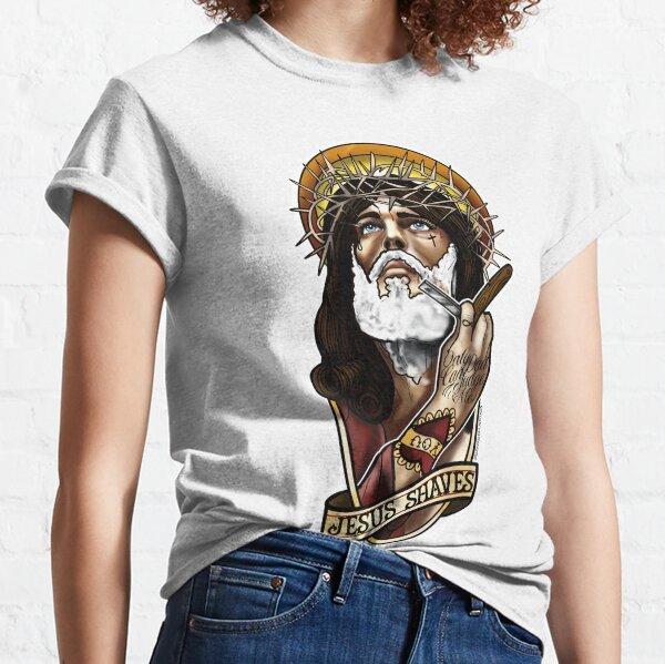 Jesus shaves Classic T-Shirt