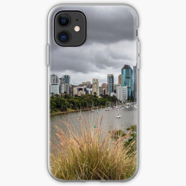 Brisbane from Kangaroo Point Cliffs iPhone Soft Case