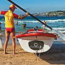 Bondi Moments - Surf Boat by Ian English