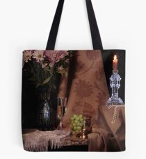 Flowers, Grapes and New Candlestick Tote Bag
